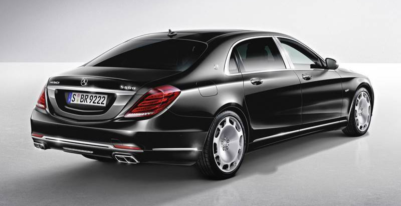 Класата на Mercedes-Maybach S600